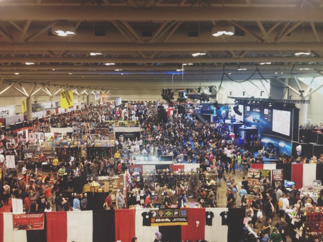 The craziness that can be Fan Expo Canada.