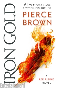 'Iron Gold' book cover